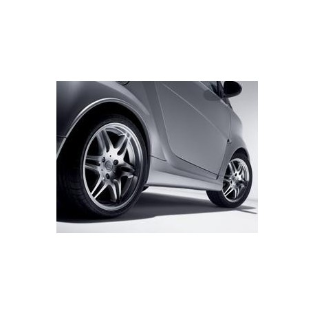 Brabus side skirts ForTwo 451