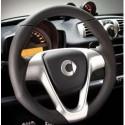 BRABUS 3-spoke leather sports steering wheel ForTwo 451