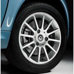 "12 Spoke alloy wheels 15"", design 1 ForTwo 451"