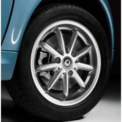 "9 Spoke alloy wheels 15"", design 2 ForTwo 451"
