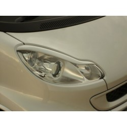 Headlight Eyebrows SmartKits ForTwo 451