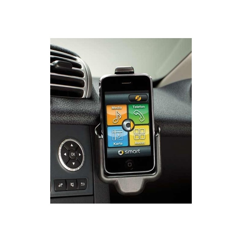smart cradle for the iphone car kit fortwo 451. Black Bedroom Furniture Sets. Home Design Ideas