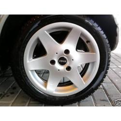"""6 spoke Sportline alloy wheels 15"""" Fortwo"""