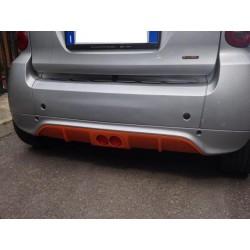 Diffusore posteriore SKs con catarifrangente ForTwo 451 My12