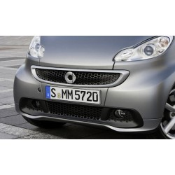 Colored Front spoiler restyling My12 ForTwo 451