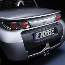 Brabus Roadster Rear spoiler