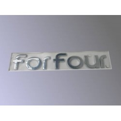 ForFour 454 Logo Puerta Trasera