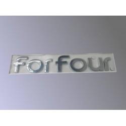 ForFour Targhetta Portello Posteriore  454