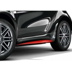 Brabus Tailor Made side skirts Smart 453