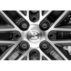 Cubiertas de tornillos de rueda BRABUS Smart 453