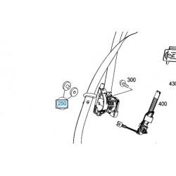 Clip stops seatbelt Smart ForTwo 451