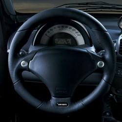 Brabus ForTwo 450 Sport steering wheel