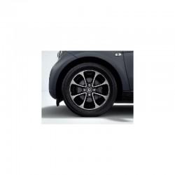 Cerchio anteriore 8 razze nero (15) 453