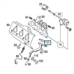 Guarnizione turbocompressore Smart ForTwo 450