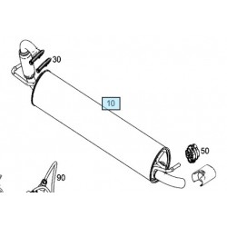 Tubo di Scarico Smart 453