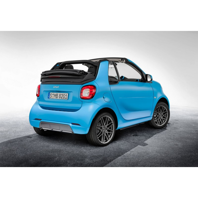 brabus rear diffusor for the standard smart exhaust systems fortwo 453 smartkits sks. Black Bedroom Furniture Sets. Home Design Ideas
