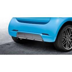 Diffusore posteriore Brabus per scarico di serie ForTwo 453