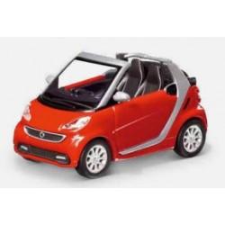 Modellino Smart Cabrio ForTwo 451 1:87
