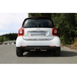 Smart Fox ForTwo 453 2x80 type 14 central exhaust pipe