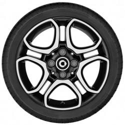 5-twin-spoke wheel ForTwo 453