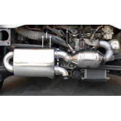 Doppio tubo di scarico Roadster 452