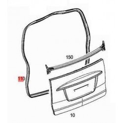 Circumferential Door Deal ForTwo 451 Coupe