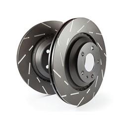 EBC Turbo Groove Brake Discs Black Smart 453