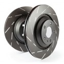 EBC Turbo Groove Brake Discs Black Smart 453