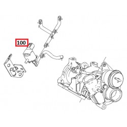 Charge pressure regulating valve ForTwo 451