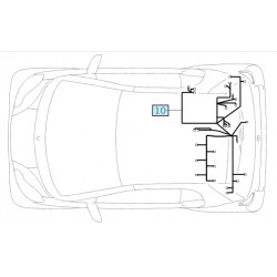Electrical line Smart ForTwo 451