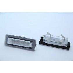 LED license plate lights Smart ForTwo 451