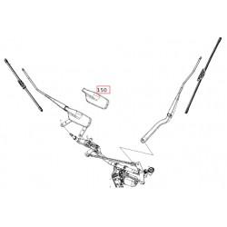 Protezione braccio tergicristallo Smart ForTwo 453