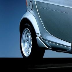 Codolini aerodinamici laterali posteriori ForTwo 450 Cabrio Brabus