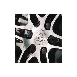 BRABUS wheel bolt covers, set of 12