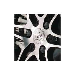 Cubiertas de tornillos de rueda BRABUS, 12 unidades