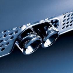 Doppio tubo di scarico sportivo Brabus ForTwo 450