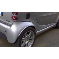 Brabus wheelarch extenders ForTwo