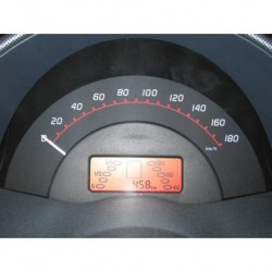 Software adjustment for speedometer until 180 Km/h ForTwo 450
